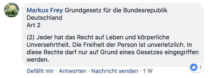 grundgesetz deutschland artikel 2