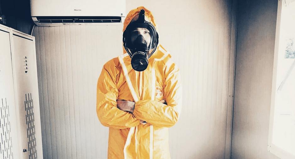 asbest schutzanzug