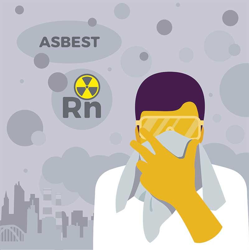 asbest plutonium